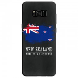 This is my country - New Zealand Samsung Galaxy S8 Case | Artistshot