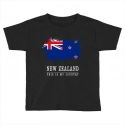 This is my country - New Zealand Toddler T-shirt | Artistshot