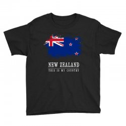 This is my country - New Zealand Youth Tee | Artistshot