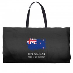 This is my country - New Zealand Weekender Totes | Artistshot