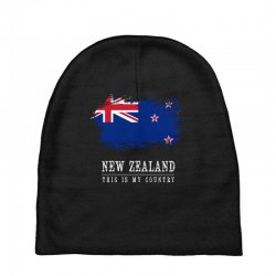 This is my country - New Zealand Baby Beanies | Artistshot
