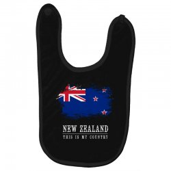 This is my country - New Zealand Baby Bibs | Artistshot