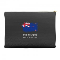 This is my country - New Zealand Accessory Pouches | Artistshot