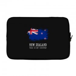 This is my country - New Zealand Laptop sleeve | Artistshot
