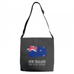 This is my country - New Zealand Adjustable Strap Totes | Artistshot