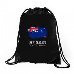 This is my country - New Zealand Drawstring Bags | Artistshot