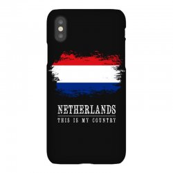 This is my country - Netherlands iPhoneX Case | Artistshot
