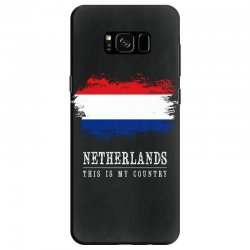 This is my country - Netherlands Samsung Galaxy S8 Case | Artistshot