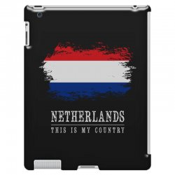 This is my country - Netherlands iPad 3 and 4 Case | Artistshot