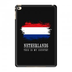 This is my country - Netherlands iPad Mini 4 Case | Artistshot
