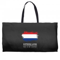 This is my country - Netherlands Weekender Totes | Artistshot