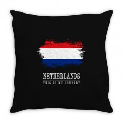 This is my country - Netherlands Throw Pillow | Artistshot