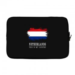 This is my country - Netherlands Laptop sleeve | Artistshot