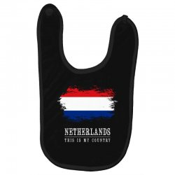 This is my country - Netherlands Baby Bibs | Artistshot