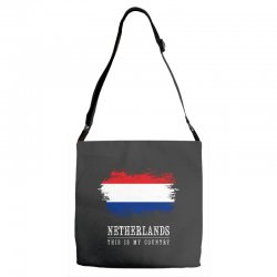 This is my country - Netherlands Adjustable Strap Totes | Artistshot