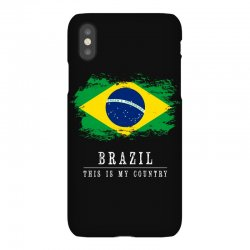 This is my country - Brazil iPhoneX Case | Artistshot