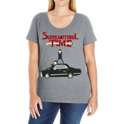supernatural adventure Ladies Curvy T-Shirt | Artistshot