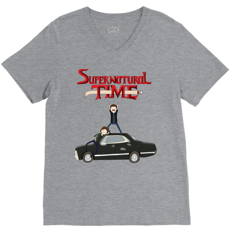 Supernatural Adventure V-neck Tee | Artistshot