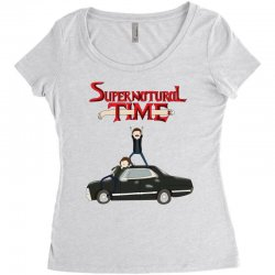 supernatural adventure Women's Triblend Scoop T-shirt | Artistshot