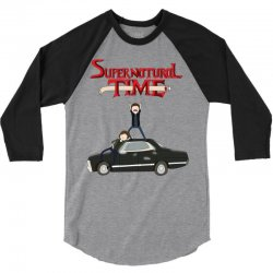 supernatural adventure 3/4 Sleeve Shirt | Artistshot