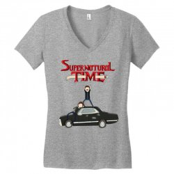 supernatural adventure Women's V-Neck T-Shirt | Artistshot