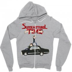 supernatural adventure Zipper Hoodie | Artistshot