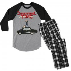 supernatural adventure Men's 3/4 Sleeve Pajama Set | Artistshot