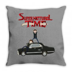 supernatural adventure Throw Pillow | Artistshot