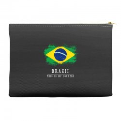 This is my country - Brazil Accessory Pouches | Artistshot