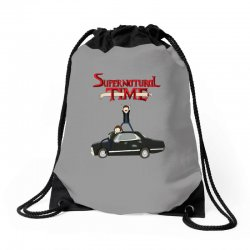 supernatural adventure Drawstring Bags | Artistshot