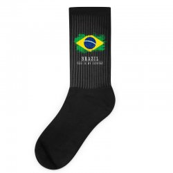 This is my country - Brazil Socks | Artistshot
