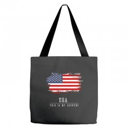 This is my country - USA Tote Bags | Artistshot