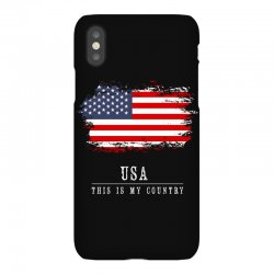 This is my country - USA iPhoneX Case | Artistshot