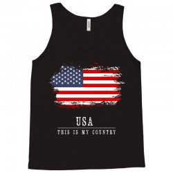This is my country - USA Tank Top | Artistshot