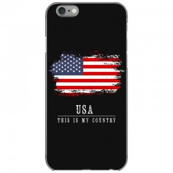 This is my country - USA iPhone 6/6s Case | Artistshot