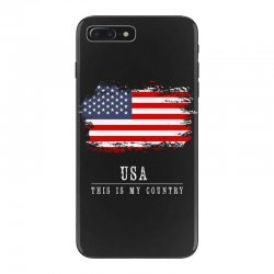 This is my country - USA iPhone 7 Plus Case | Artistshot