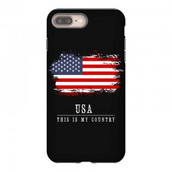 This is my country - USA iPhone 8 Plus Case | Artistshot
