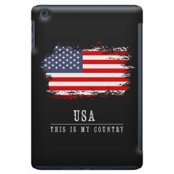 This is my country - USA iPad Mini Case | Artistshot