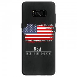This is my country - USA Samsung Galaxy S8 Case | Artistshot