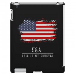 This is my country - USA iPad 3 and 4 Case | Artistshot