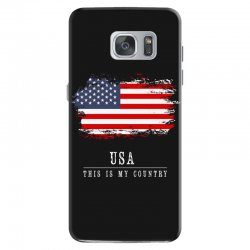 This is my country - USA Samsung Galaxy S7 Case | Artistshot