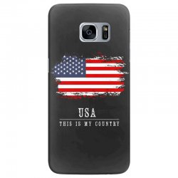 This is my country - USA Samsung Galaxy S7 Edge Case | Artistshot