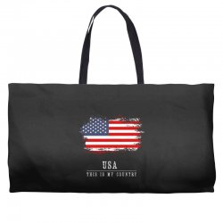 This is my country - USA Weekender Totes | Artistshot