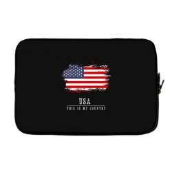 This is my country - USA Laptop sleeve | Artistshot
