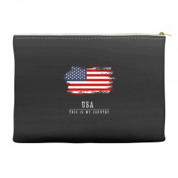 This is my country - USA Accessory Pouches | Artistshot