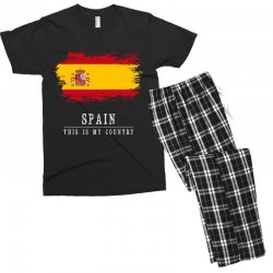 This is my country - Spain Men's T-shirt Pajama Set | Artistshot