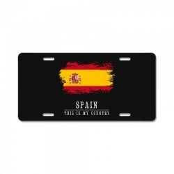 This is my country - Spain License Plate | Artistshot