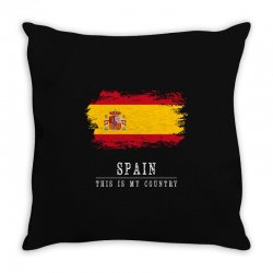 This is my country - Spain Throw Pillow | Artistshot