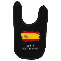 This is my country - Spain Baby Bibs | Artistshot