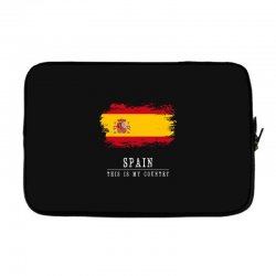 This is my country - Spain Laptop sleeve | Artistshot